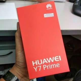 BNIB Huawei Y7 Prime 3gb Ram/32gb Memory