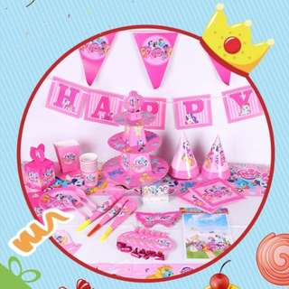My Little Pony birthday party set
