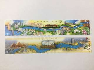 Singapore 2011 Egypt Joint Issue mnh