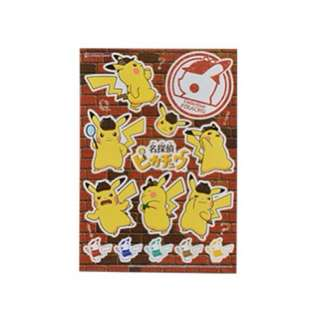 STICKERS SHEET [DETECTIVE PIKACHU] - POKEMON CENTER EXCLUSIVE