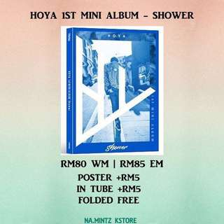PRE-ORDER HOYA 1ST MINI ALBUM - SHOWER