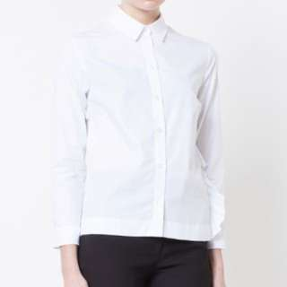 Simon Rosha ruffle white shirt(UK6)
