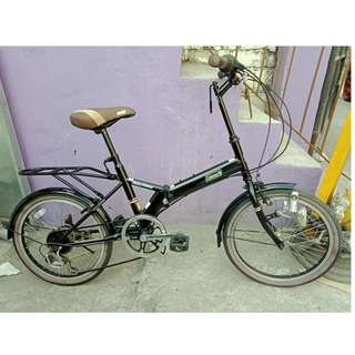 COLEMAN FOLDING BIKE (FREE DELIVERY AND NEGOTIABLE!)