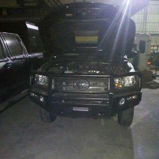 Bumper hilux.triton.l200,fortuner,pajero,isuzu dmax,KIA,ranger model arb