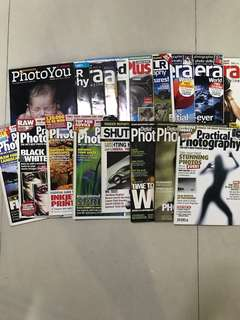 Photography magazines free