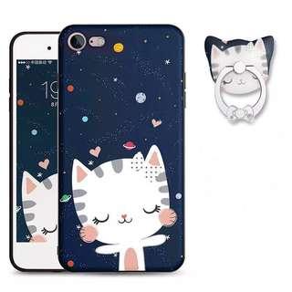 iPhone 7 太空貓咪 Case