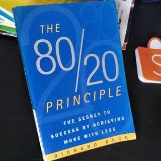 80 20 principle by Richard Koch