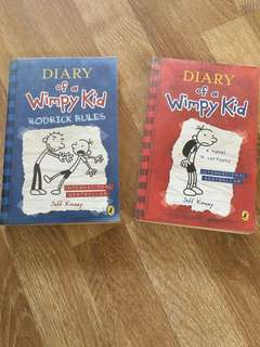 PL Diary of a Wimpy Kid - 2 books