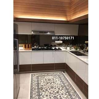Ktchen Cabinet & Wood Plaster Ceiling