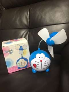 Doraemon Mini Fan