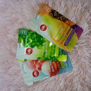 FACE MASKS (1 for 2$ or 3 for 5$)