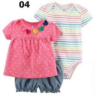 Baju bayi perempuan murah lucu branded