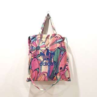 (二手)Adidas Originals 花卉 花花 兩用提袋