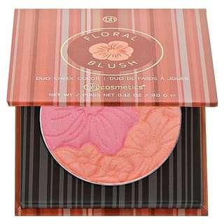 🈹🇺🇸美國 BH Cosmetics Floral Blush (Caribbean Coral 粉紅+珊瑚)