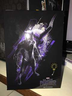 Black Panther Light-up Notebook