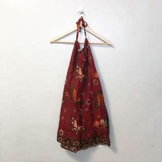 Halter dress from Bali