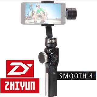 ZhiYun Smooth 4 3-Axis Handheld Gimbal Stabilizer for Smartphones (PRE-ORDER)