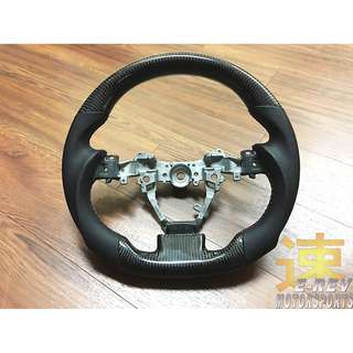 Toyota Wish 2017 Carbon Fibre Steering Wheel Group Buy Promotion. (22/3/18- 14/4/18)