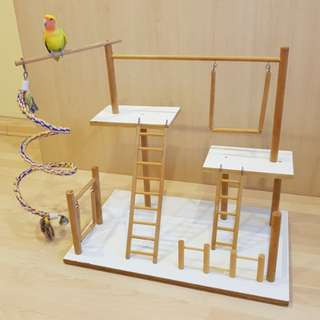 Play Gym for small to mid size parrots