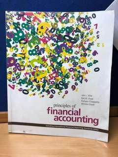 principles of financial accouting