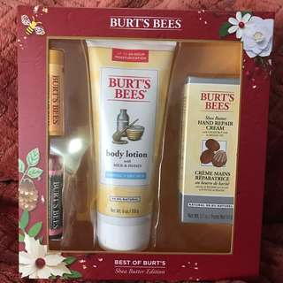 Burt's Bees - Shea Butter Edition Gift Set (Authentic)