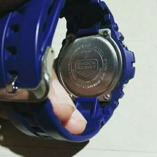 G-Shock Navy Blue - Original and Imported.  (Good as new)