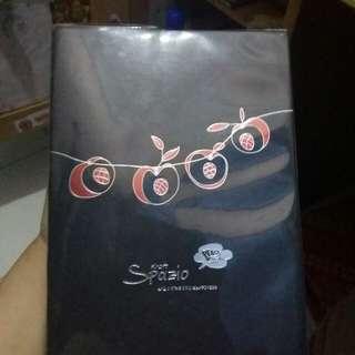 Notebook black paper