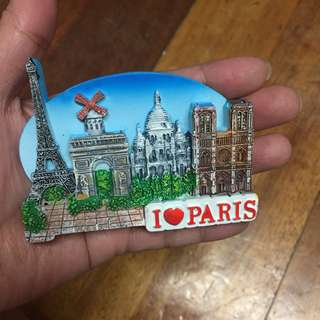 Paris Ref Fridge Magnet