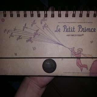 Planner book little prince theme
