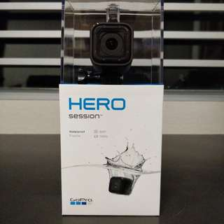 100% New GoPro Hero Session Action Cam