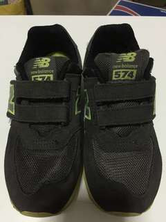 New Balance Boys Shoes, Army Green, Size 32,5