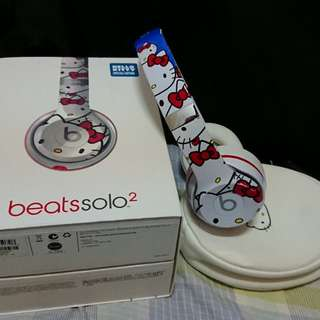 BEATS SOLO2 HELLOKITTY聯名款