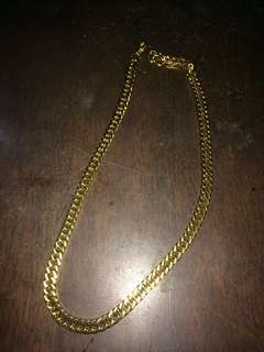 Gold chain 2 pcs for 700 only
