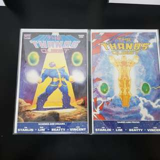 Thanos Quest Book 1 & 2 VF / NM