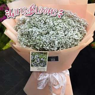 Fresh Flower Bouquet Anniversary Birthday Flower Gifts Graduation Roses Sunfowers Baby Breath -  34CA0