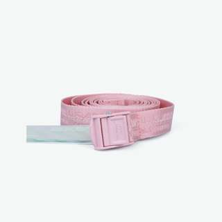 Off White 18SS Industrial belt Pink