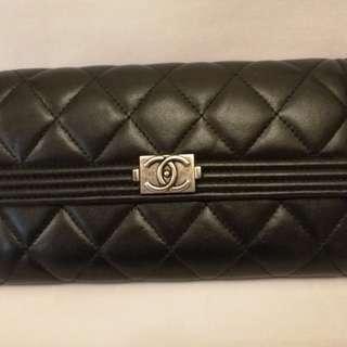 Chanel Boy Long Wallet