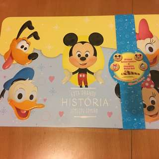 Disney Mickey's family Cookies & Wafer Roll