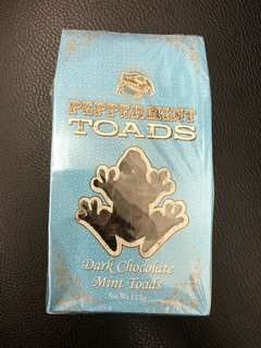 Harry Potter Dark Chocolate Mint Toads
