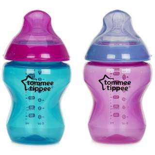 New and Original Tommee Tippee Bottles imported from the UK (2 bottles)