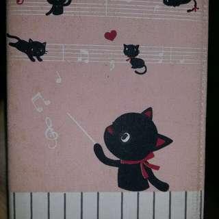 Notebook black cat theme