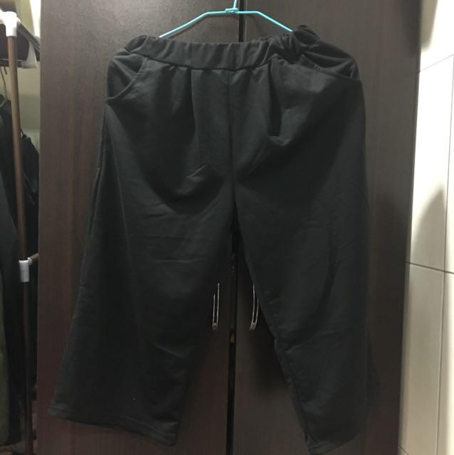 ⭕️黑色寬褲