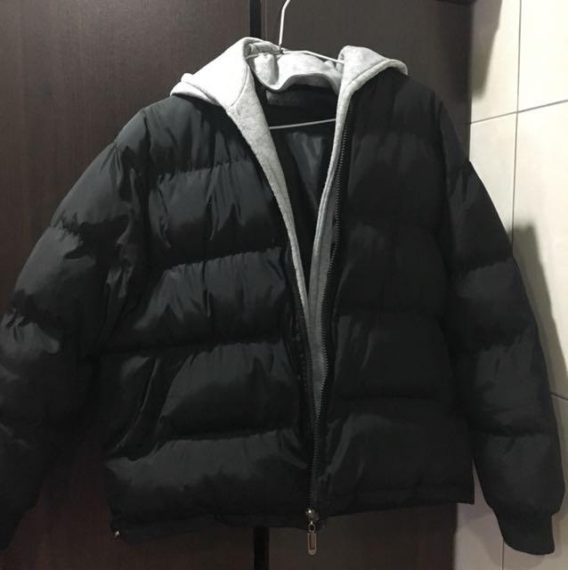 ⭕️黑色鋪棉外套