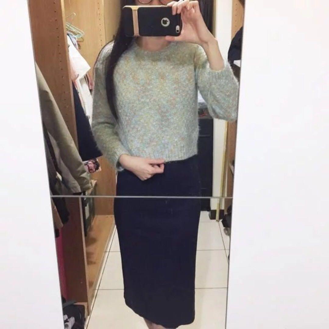 東京著衣 全新馬卡龍亮線毛海針織毛衣 免運