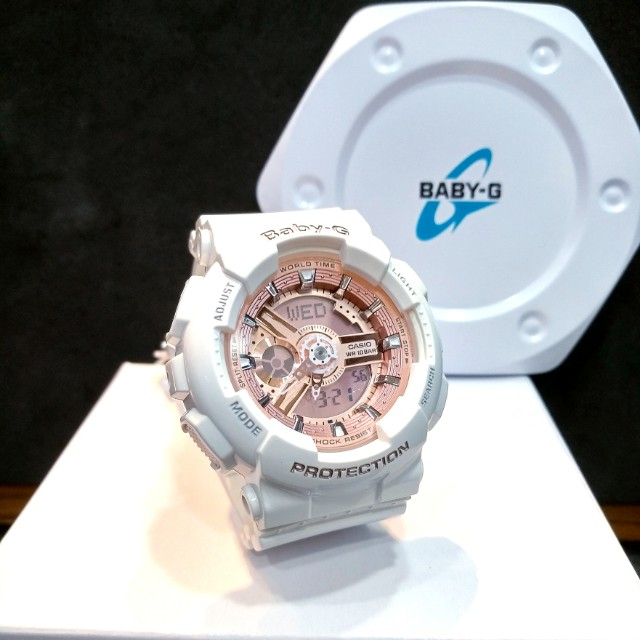 cb8297b91 FREE DELIVERY * Brand New 100% Authentic Casio BabyG White & Rose ...