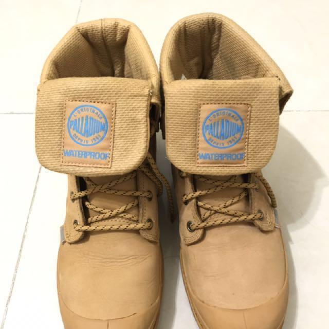 雨鞋 palladium -baggy 短靴 軍靴 短筒 原價4380