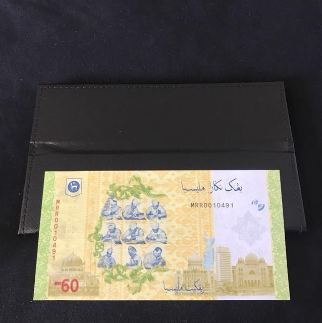 ( Pending)(Fast deal) 60th Anniversary Malaysia $60 With Folder