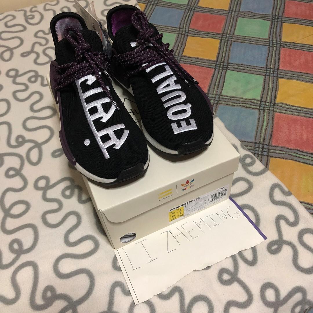e550f7a4ee5ca adidas Human Race NMD Pharrell Holi Festival (Core Black)