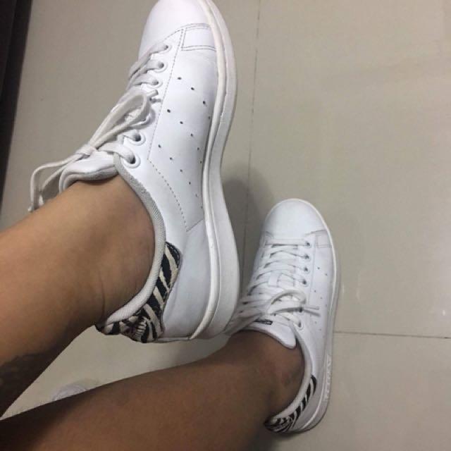 Adidas Stan Smith White Zebra Authentic