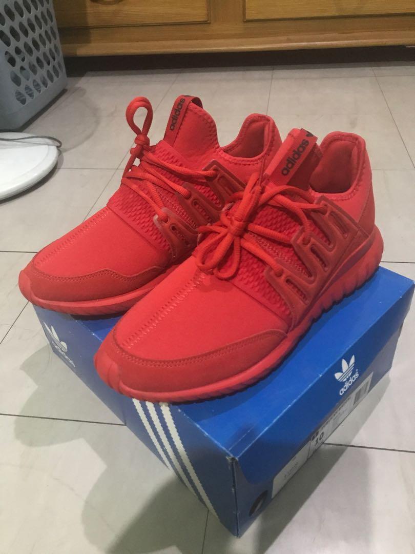 Adidas Tubular Radial (red mono)